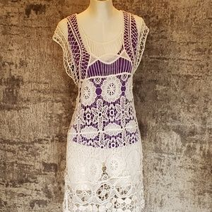 Goegeous Hand made cover up dress